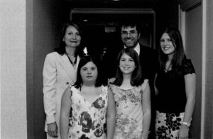 Melissa Riggio & family