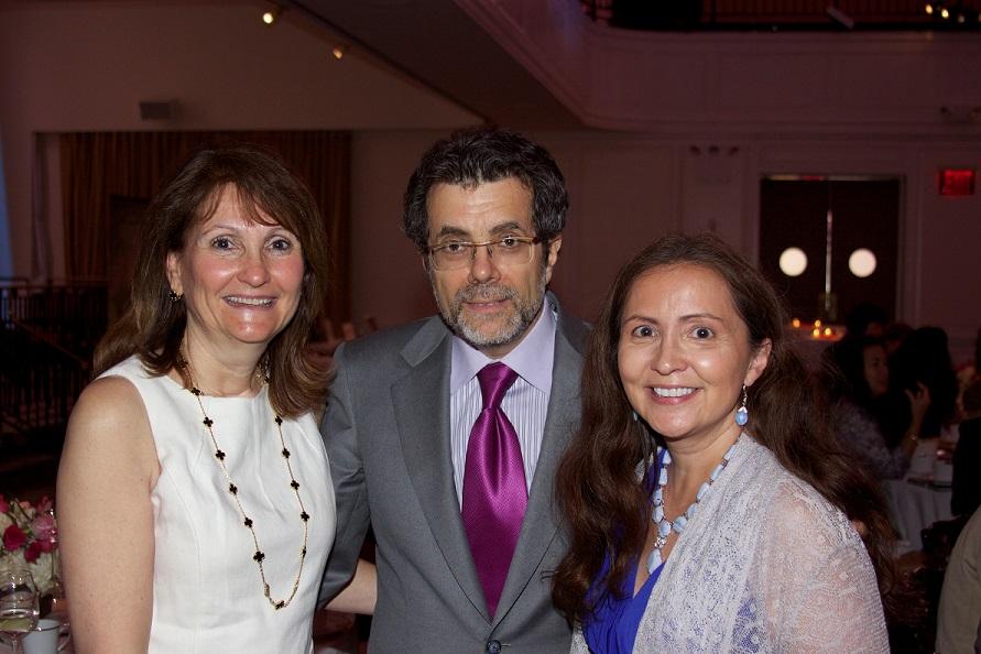 Greta Harrison with Steve & Laura Riggio