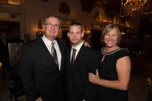 Tim with mom and dad at White house